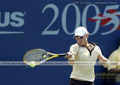 2005 US Open - Stosur & Raymond WD Champions