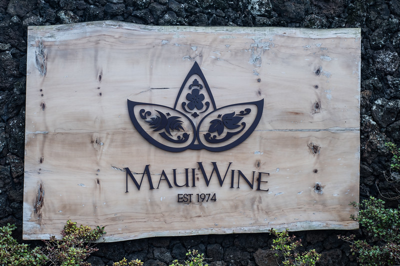 Then a stop at the only winery on Maui, the wines were all surprisingly good
