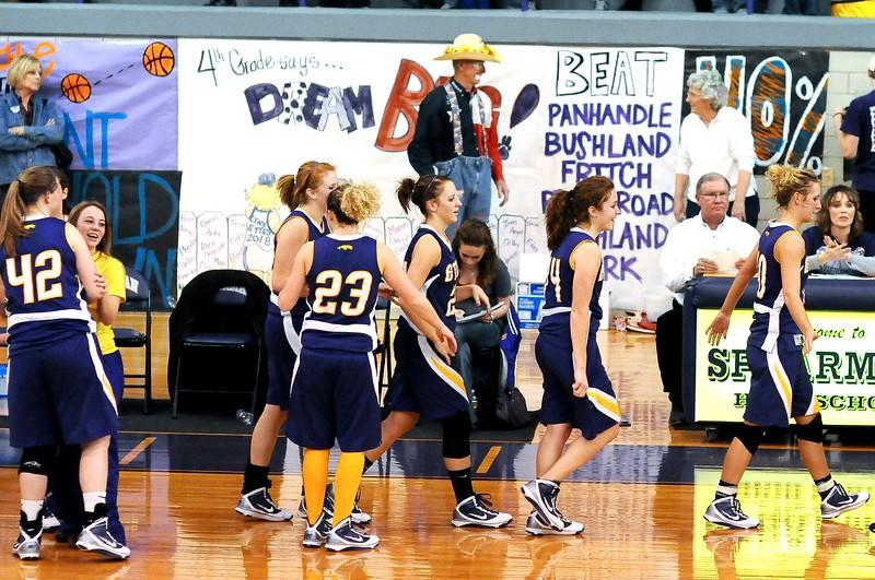Pantherettes vs Spearman, 1-22-2009, Double OT