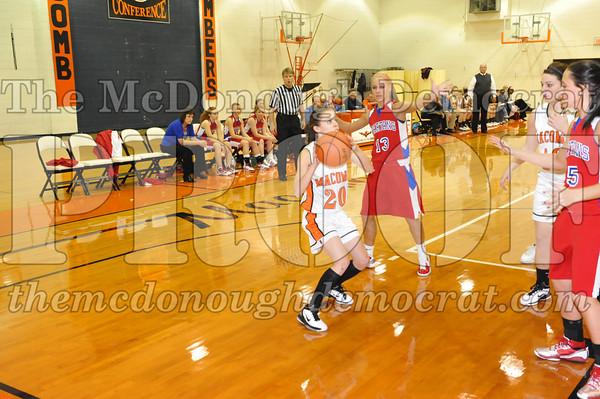 HS Bb Girls V BPCA vs Macomb 12-07-10