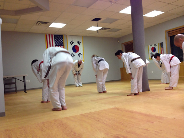 Vin's 4th degree Tae Kwon Do