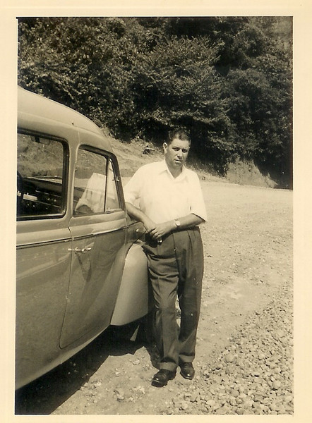 Agosto 1962 Samokinda na estrada da Piscina de Andrada
