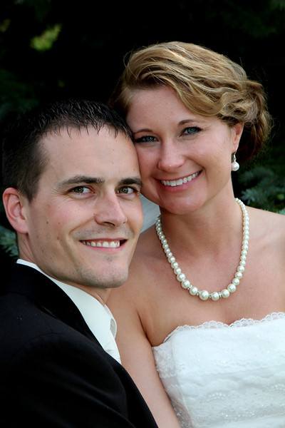 Ryan & Andrea's Wedding Day Portraits