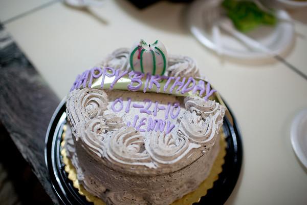 Jenny's Birthday