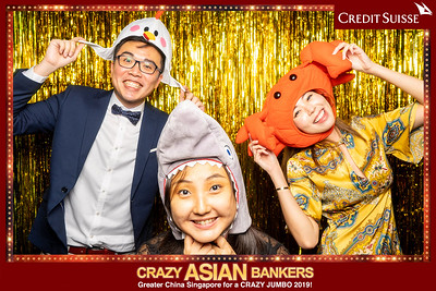 """Credit Suisse """"Crazy Asian Bankers"""" Night"""