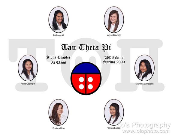 Tau Theta Pi - Alpha Chapter - Xi Class - Composite Shoot