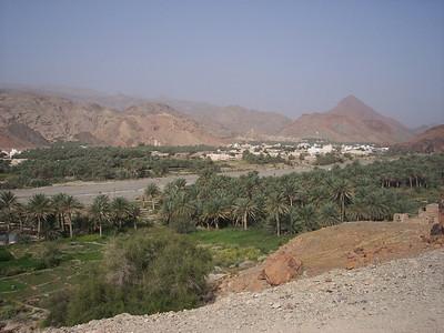 Becky in Oman
