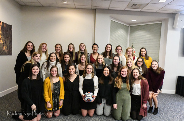 12-08-19 Etown Ladies Soccer  Year End Banquet
