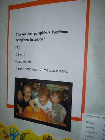 Nov 5 Tues ITALIAN KINDERSCUOLA HOLDS OPEN HOUSE