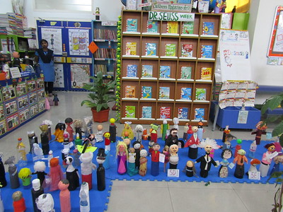 JR. LIBRARY'S - BIOGRAPHY BOTTLE COMPETITION OF AUTHORS
