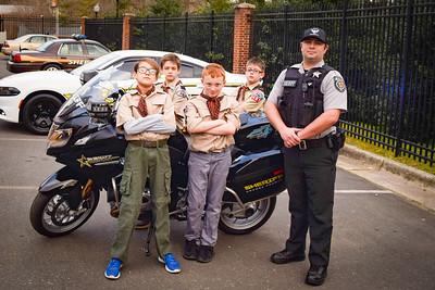 Cub Scout Visit March 2019