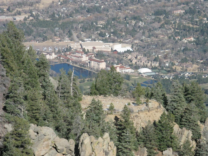 the Broadmoor Hotel complex.