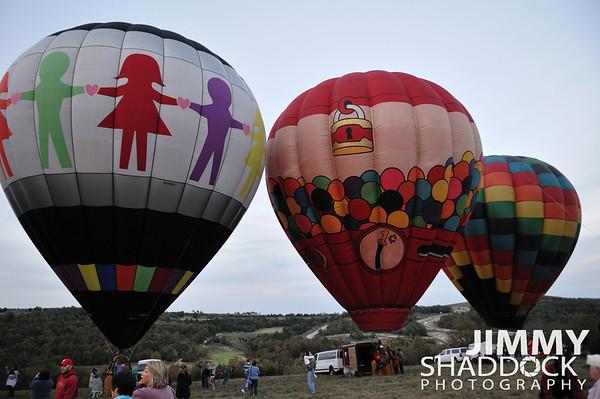 Branson Balloon Festial Oct 22