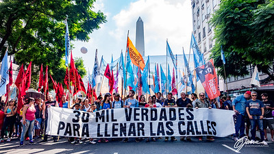 Day of Remembrance for Truth and Justice Protest in Buenos Aires