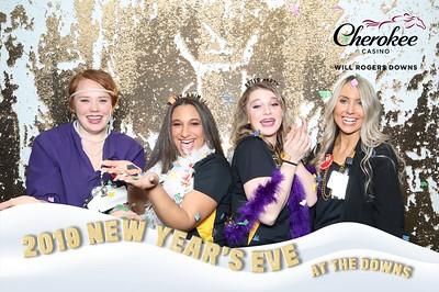 Cherokee Casino WRD NYE