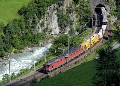 St Gotthard railway north ramp, 2006 1: Wassen