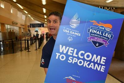 2018-06-26 Spokane Airport - Arrivals