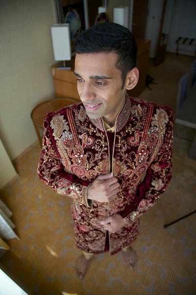 Le Cape Weddings - Indian Wedding - Day 4 - Megan and Karthik Groom Getting Ready 7.jpg