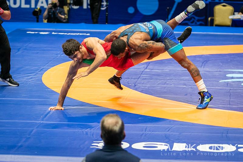 Quarterfinal: Jordan Ernest Burroughs (United States) over Khadzhimurad Gadzhiyev (Azerbaijan)  •  Dec 8-1 - 2019 World Championships