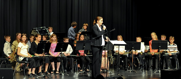 5th Grades First Band Concert