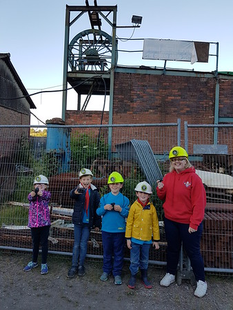 2018-06-22 Beavers visit Apedale Coal Mine