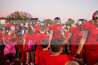 LHS vs HHS LITTLE REDHAWKS/HOMECOMING 10/28/16