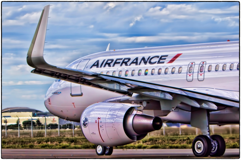 Air France Test Flight