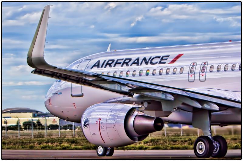 Air France Test Flight