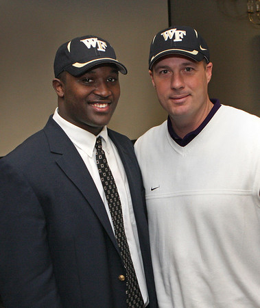 Derricus Signs with Wake Forest 1-6-08