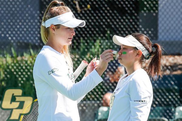Cal Poly Women's Tennis vs USF 03222021