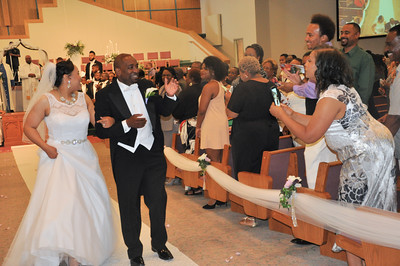 Keisha and Mario Wedding June 11, 2016