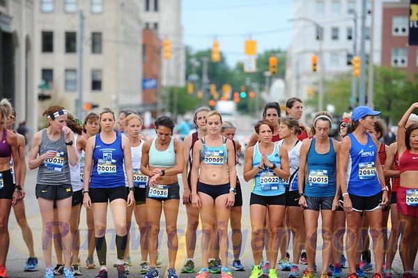 USATF Masters Women Mile Start - 2018 Crim - Friday