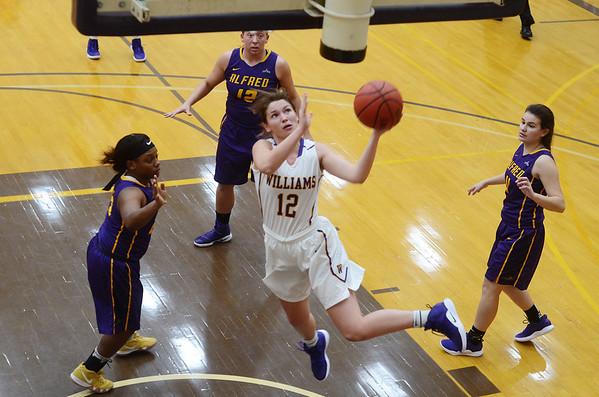 Williams womens basketball vs Alfred - 113018