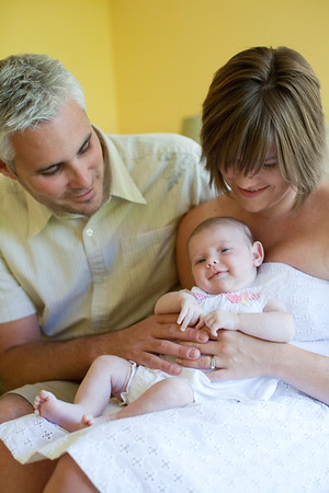 Quincy Burke :: Newborn Photoshoot