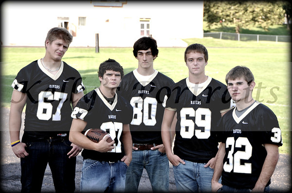 MH Senior football players 2011