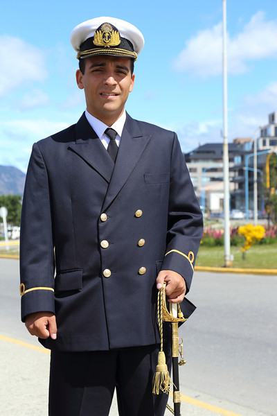 Argentine Navy officer, Ushuaia