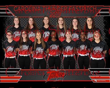 Carolina Thunder Print Order or Reorder