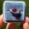 1.71ctw Ruby and Diamond Trilogy Ring 17