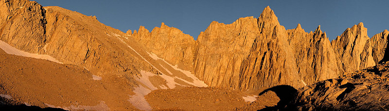 Whitney Trail Panoramas