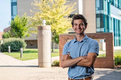 58427 Biomedical Engineering Major Garrett Regan for Student Profile 9-7-21