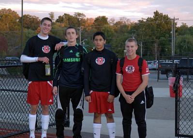 Dixie Soccer - Senior Night 10-05-2010