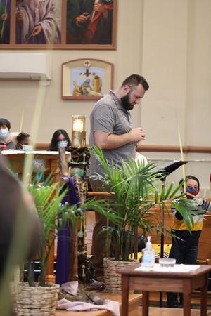 Palm Sunday at St. Patrick Church 03.28.21