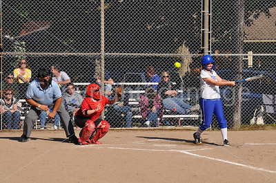 Girls Softball, La Moille VS Princeton, April 3, 2010