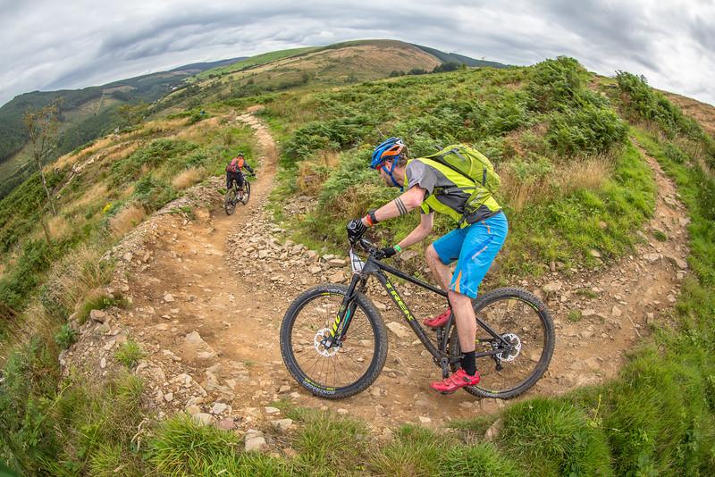 Riders during Epic Cymru stage race.