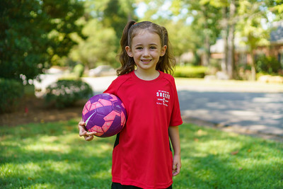 20190824 Brielle Soccer Game Warmup