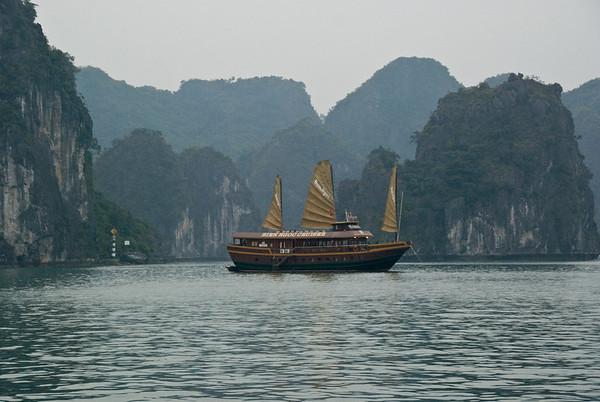 Halong Bay  Vietnam Feb. 13-Feb. 14
