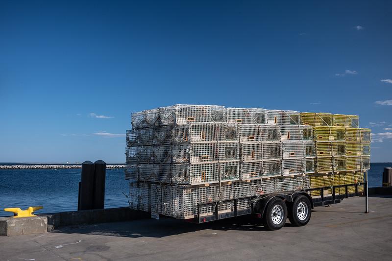 trailer w lobster traps MacMillan Pier.jpg