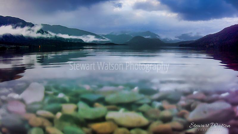 Lake Kaniere stones