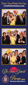 5/19/18 Beckman High School Prom Photo Strips