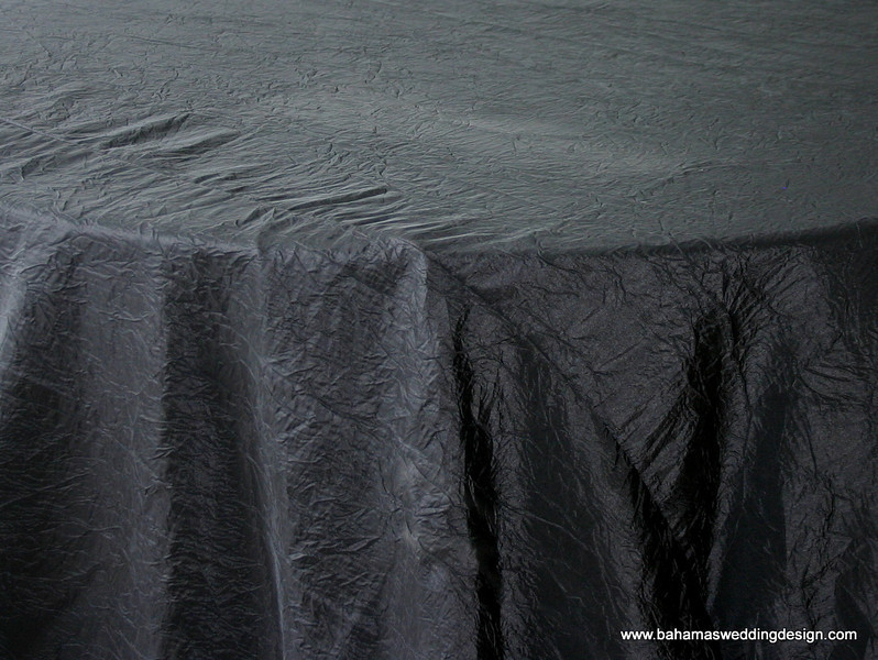 Crushed Taffeta - Black
